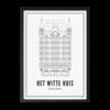 Wijck 30x40 Poster Rotterdam Witte Huis