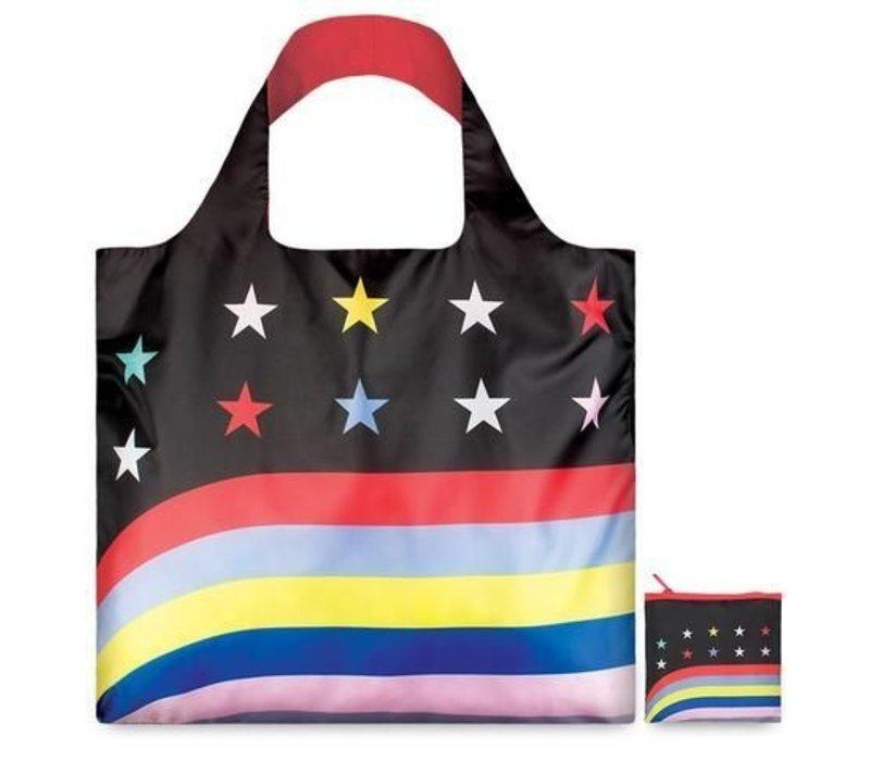 LOQI Bag Travel - Stars and Stripes