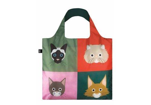 LOQI Bag Stephen Cheetham - Cats