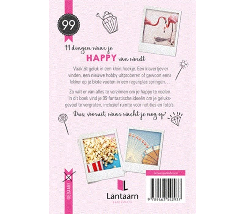 99 dingen waar je happy van wordt