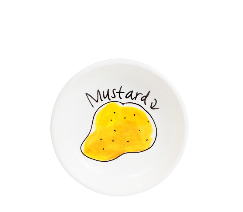 Snack bowl 8cm mustard