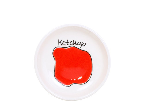 BLOND AMSTERDAM Snack bowl 8cm ketchup
