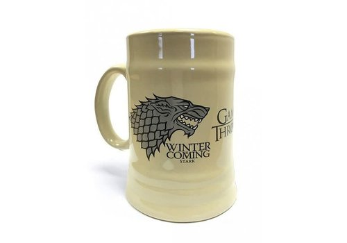 Bier mok - Game Of Thrones House Stark