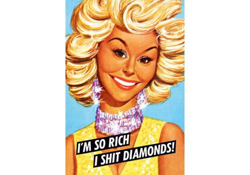 Magneet I'm so rich I shit diamonds