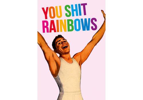 Magneet You shit rainbows