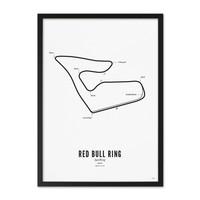 Poster 30x40 - Circuit Spielberg wit