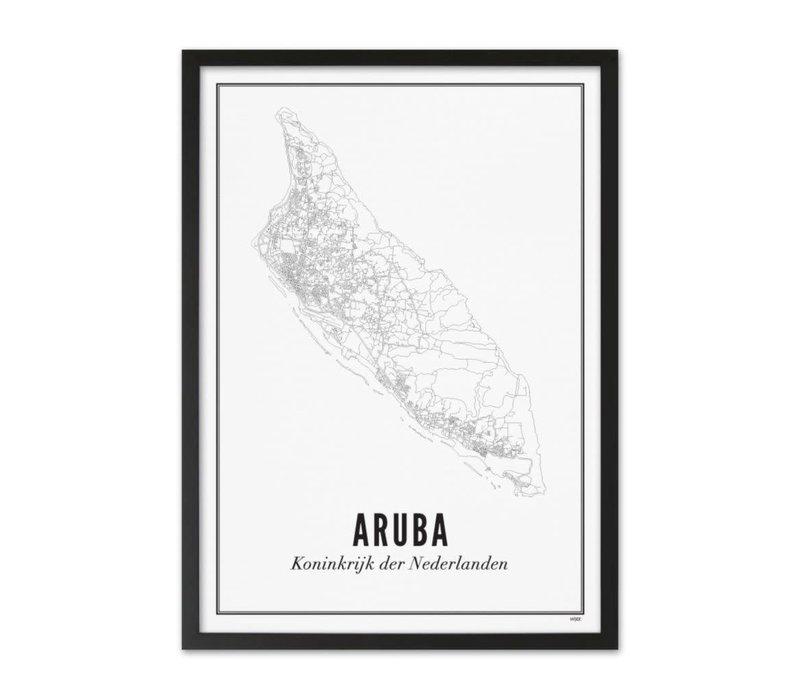 Poster A4 - Aruba