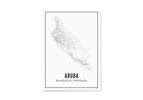 Wijck Poster A4 - Aruba