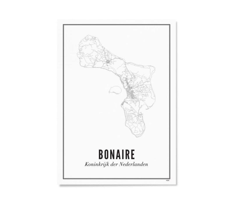Poster A4 - Bonaire