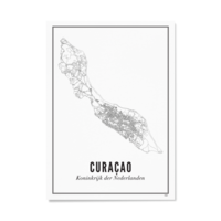 Poster A4 - Curacao