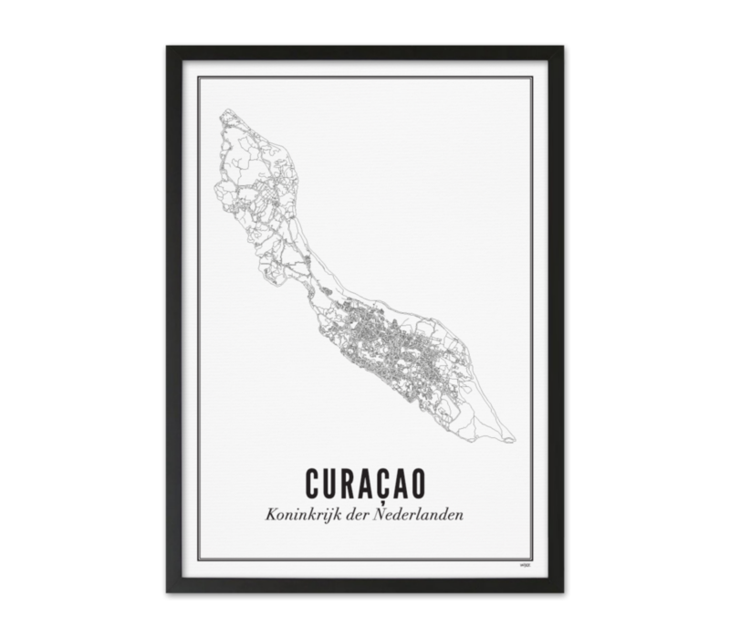 Poster A4 - Curacao