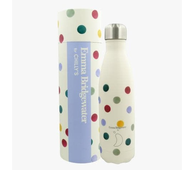 Chilly's thermosfles 500ml Polka dots