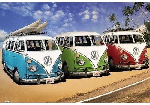 Poster |  VW CALIFORNIAN CAMPER - CAMPERS