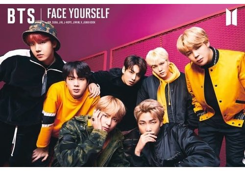 Poster |  BANGTAN BOYS BTS FACE YOURSELF
