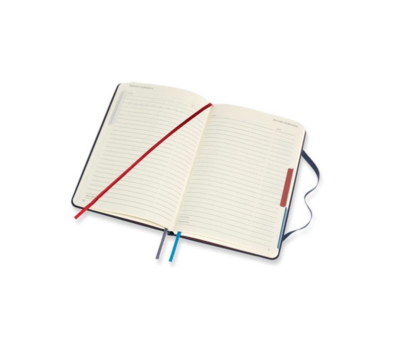 Reisdagboek - Voyageur Travellers Ocean Blue
