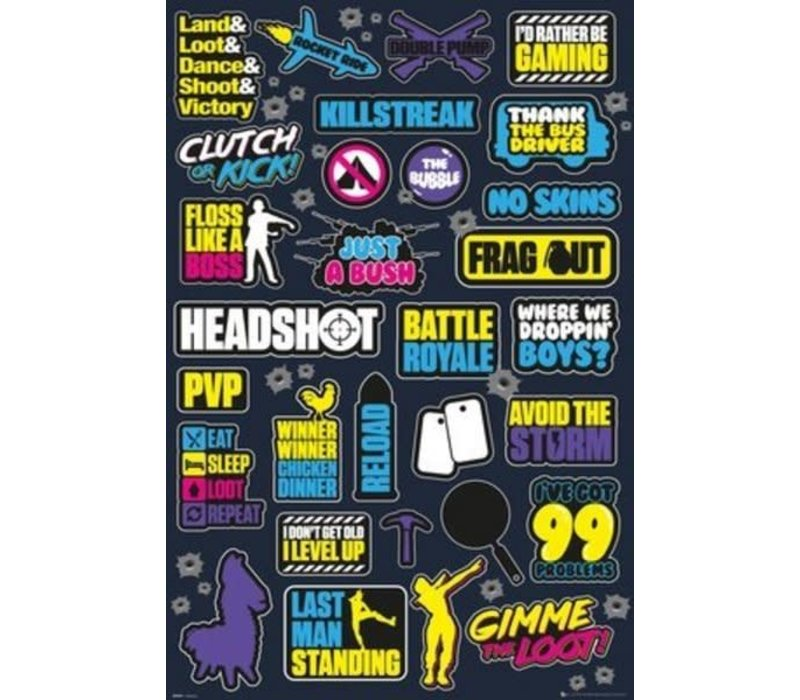 Poster    BATTLE ROYALE INFOGRAPHIC