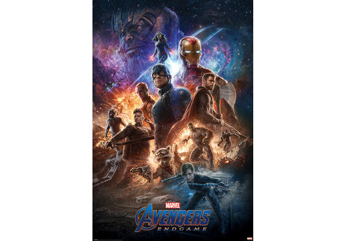 Poster 127 |  AVENGERS ENDGAME FROM THE ASHES