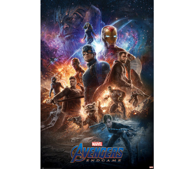Poster |  AVENGERS ENDGAME FROM THE ASHES