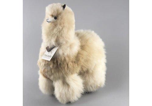 Inkari Alpaca groot bruin naturel