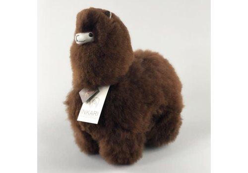 Inkari Alpaca medium donkerbruin