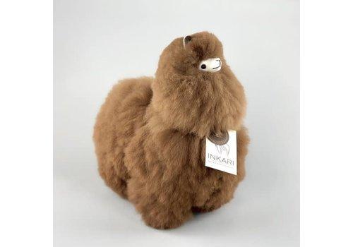 Inkari Alpaca medium Bruin