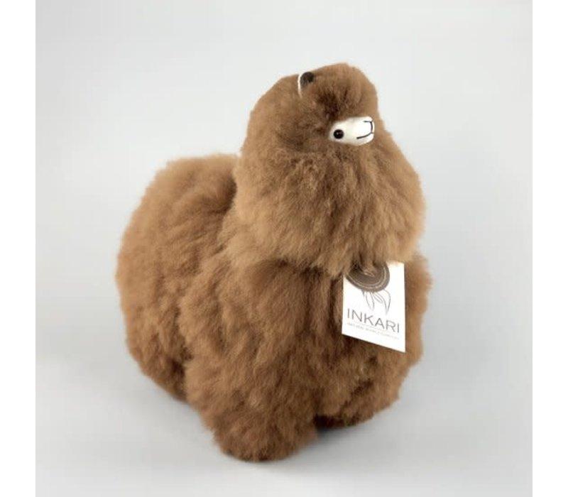 Alpaca medium Bruin
