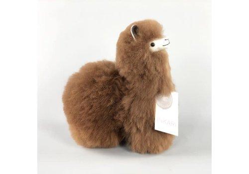 Inkari Alpaca Klein Walnoot