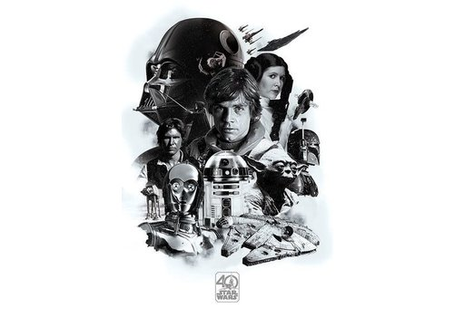 Poster 17 |  Star Wars 40th anniversary montage