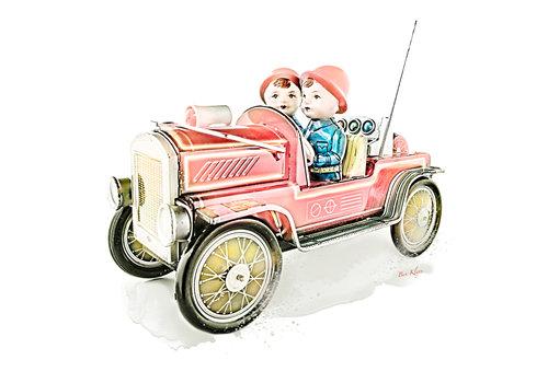 Ben Kleyn Poster | Speelgoed | Brandweer | Vintage |