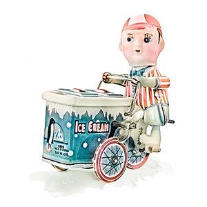 Ben Kleyn Poster | Speelgoed | IJskoman | Vintage | 30x30