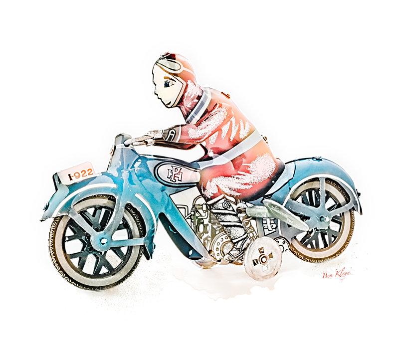 Poster | Speelgoed | Motor | Vintage |