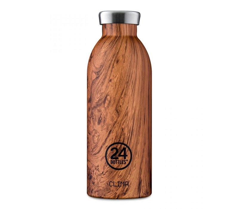 24 Bottle 500ml Wood Sequoia