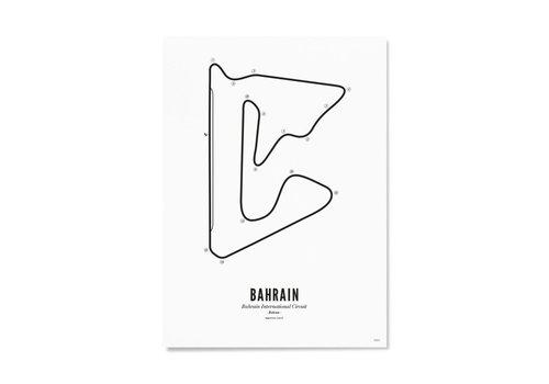 Wijck Ansichtkaart Circuit Bahrain wit