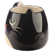 Feline zwarte kat mok
