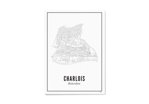 Wijck Poster A4 - Rotterdam Charlois