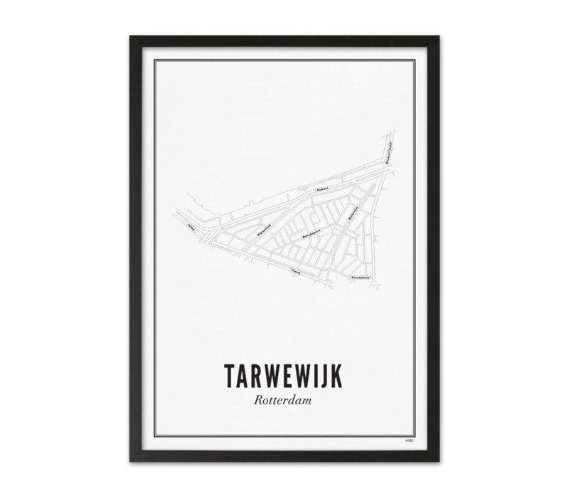 Poster A4 - Rotterdam Tarwewijk