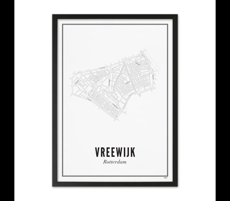 A4 Poster Rotterdam Vreewijk