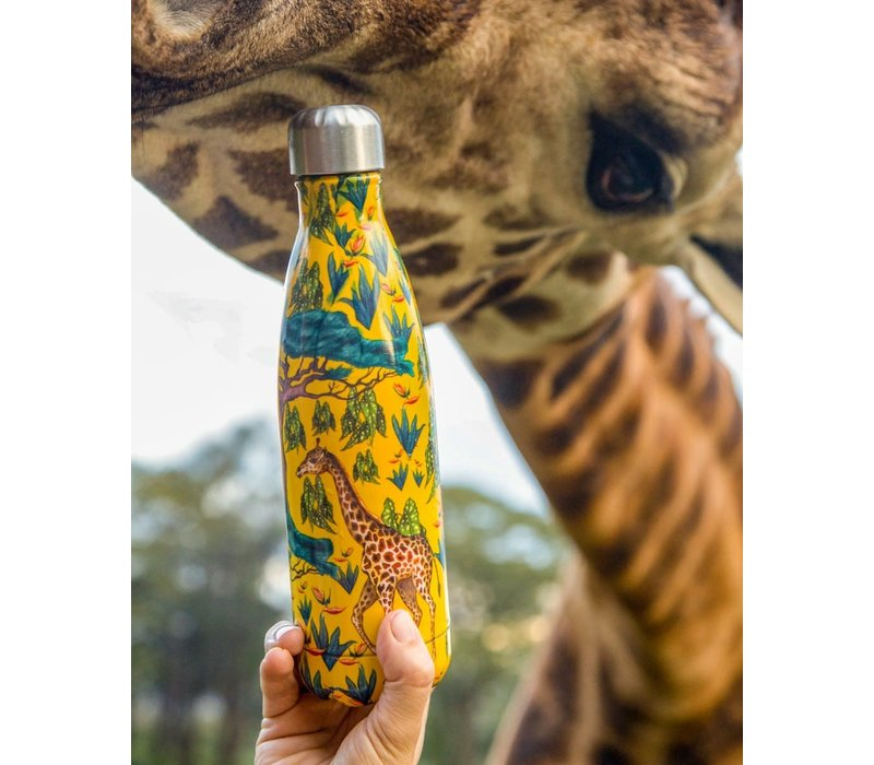 Chilly's bottle 500ml Tropical Giraffe