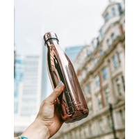 Chilly's waterfles 500ml rosé goud