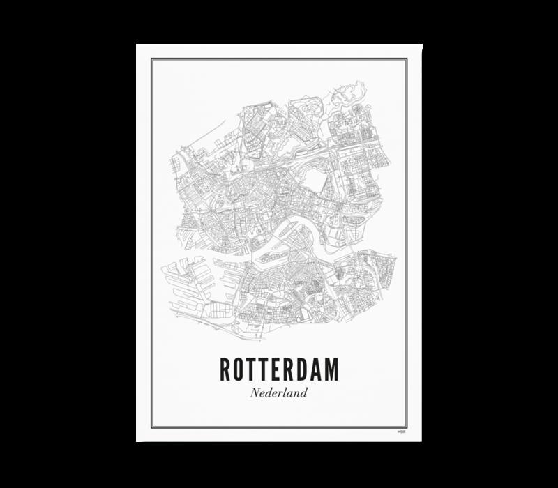 Poster 50x70 - Rotterdam stad