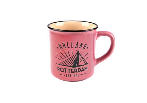 Matix Campmug Rotterdam rose