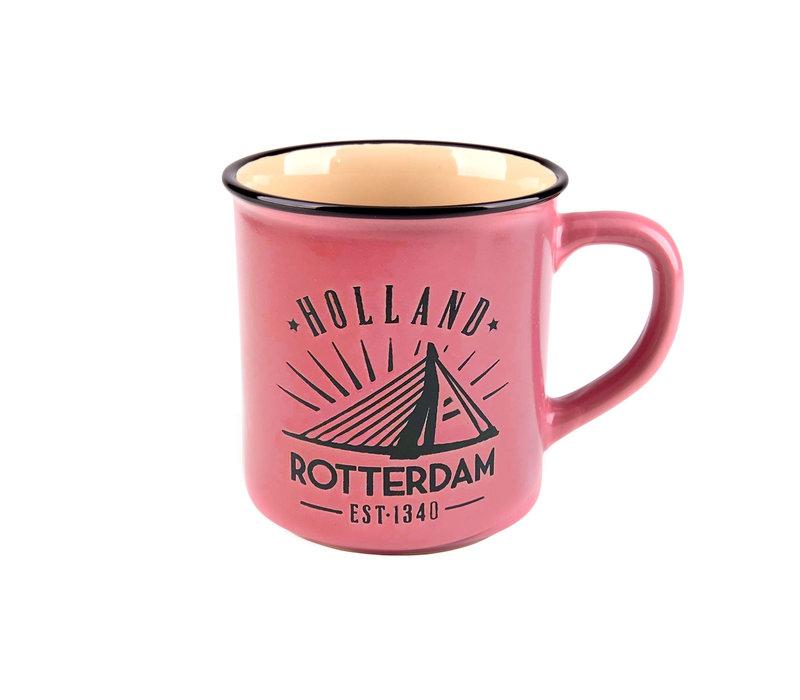 Campmug Rotterdam rose