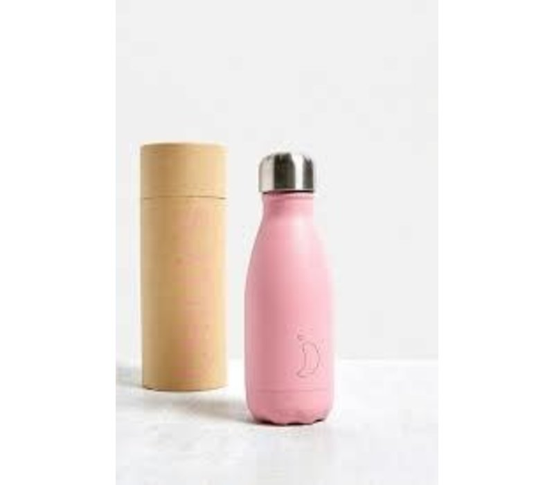 Chilly's thermosfles 260ml pastel pink