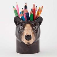 Potloden potje zwarte beer