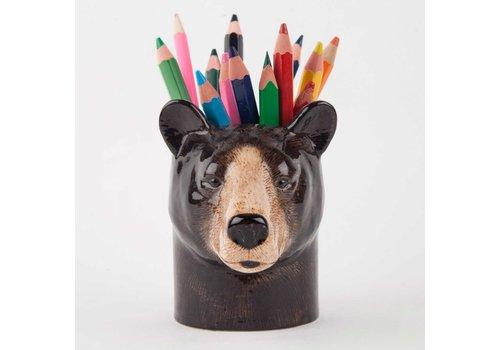 Quail Designs Potloden potje zwarte beer
