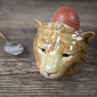Eierdop of cactus potje- Leeuw