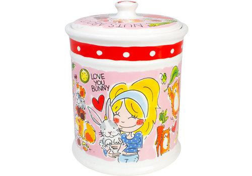 BLOND AMSTERDAM Dier storage jar bunny