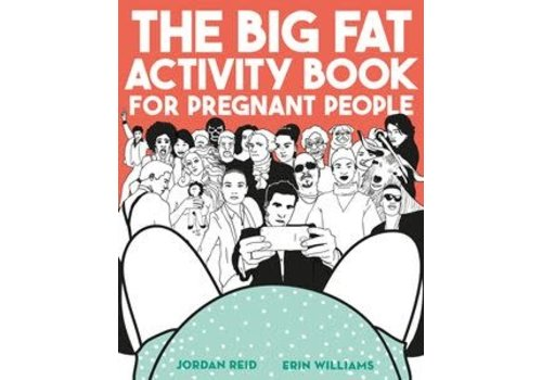 Bookspeed Big fat activity book for pregnant people