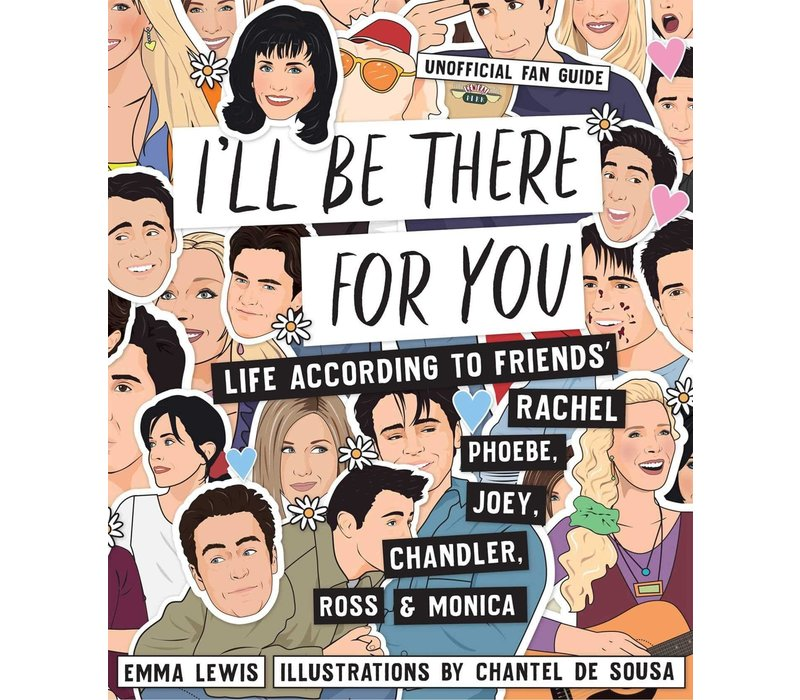 Boek I'll be there for you Friends