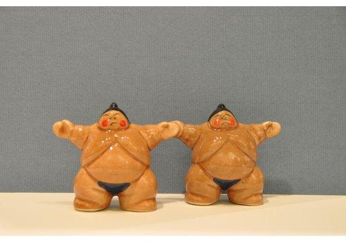 Fisura Peper en zoutstel Sumo worstelaars